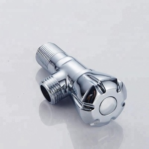 Chrome Plated Small  Water Angle Cock Valve