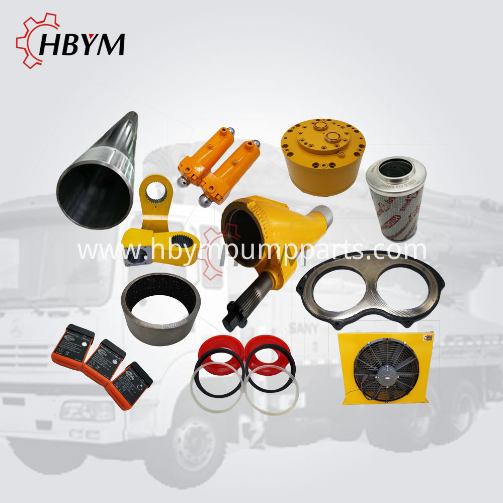 sany concrete pump parts