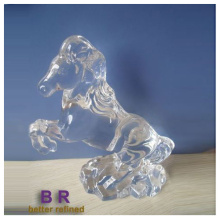 Glass Horse Figurines Hand Made Crystal Ornaments