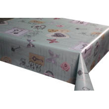 Elegant Tablecloth with Non woven backing on Wall