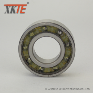 Reinforced Nylon Cage Mining Bearing 6205 TN9 C3