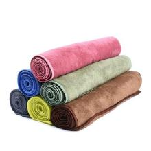 100% Microfiber dyeing towels
