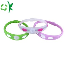 Hot sale for Custom Mens Bracelet Fashion Multicolor Wristbands Custom Silicone Gel Bracelets export to Germany Suppliers