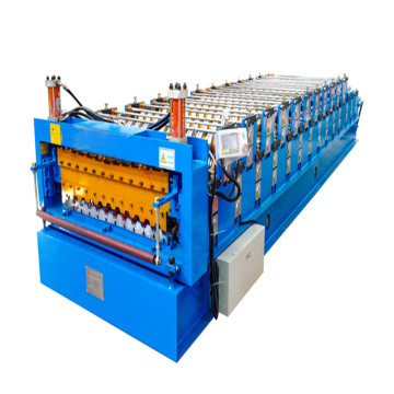 Iron Sheet Roll Forming Line Corrugated Double