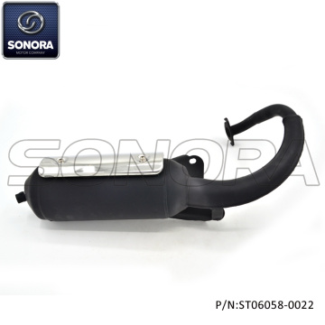 Exhaust for Peugeot 50cc 2T (P/N:ST06058-0022) Top Quality