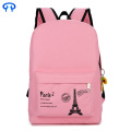 Student notebook canvas double backpack