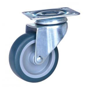 50mm plate mounted swivel caster