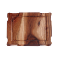 Acacia wood original board with well
