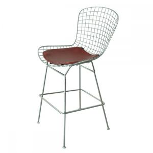 PriceList for for Swivel Modern Bar Chair,Adjustable Modern Bar Chair,Modern PU Bar Chair Supplier in China Modern classic Harry Bertoia counter stool replica export to India Exporter