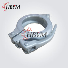 China for Concrete Pump Clamp 4Inch Concrete Pump Spare Parts Forged Snap Clamp export to Brazil Manufacturer