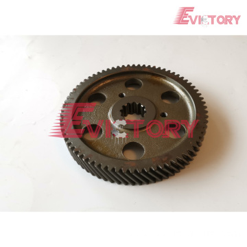 VOLVO D4E idle timing gear crankshaft camshaft gear
