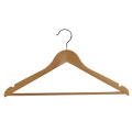 Non-Slip Retro Hotel Home Coat Wooden Hanger