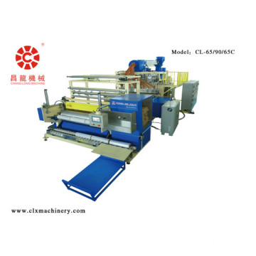 Three Layers Casting Stretch Wrapping Film Unit