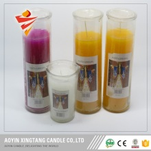 Wholesale price Religious candles glass jar