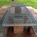 Galvanized Steel Grating Bench and Chair
