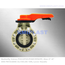 PVC Butterfly Valve Wafer Type