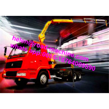 Low Cost for Mini Crane Truck SQ10SK3Q 10 Ton Lorry Truck Mounted Crane export to Western Sahara Factories