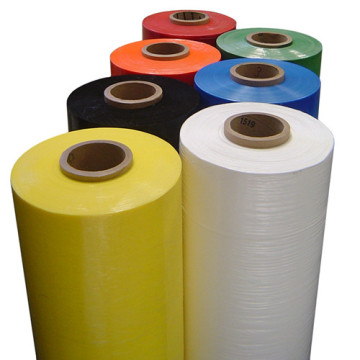 LLDPE colored stretch wrap colorful film