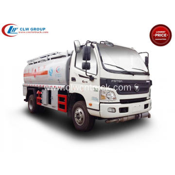 2019 New FOTON 6000litres fuel transport tank truck