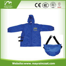 Best Selling Kids Polyester Rain Jacket Raincoat