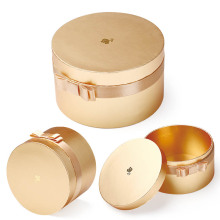 Cosmetics Round Shape Rigid Gift Box