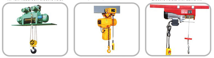 Micro electric hoist