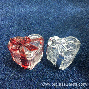10 Years manufacturer for Ring Jewelry Box Luxury New Developed Glass Ribbon Trinket Box export to Russian Federation Manufacturer