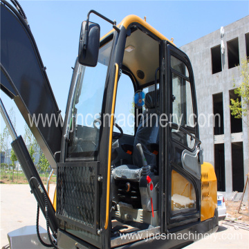 7Ton mini wheel digger One year 2000hrs warranty