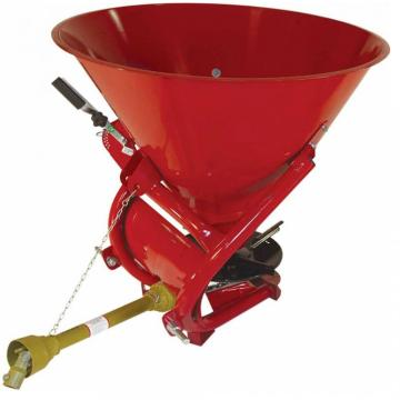 Tractor pto drive all chemical fertilizer spreader