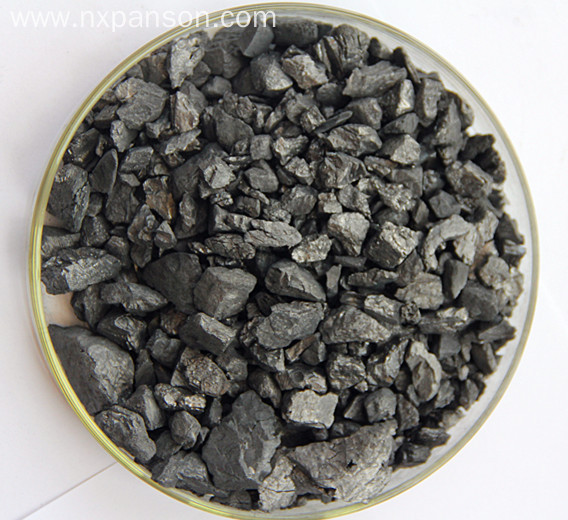 Electricity calcined half graphitization anthracite hot sale