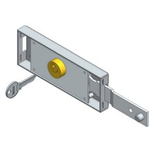 Right Shifted Deadbolt Roller Shutter Lock