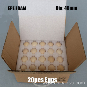 Special Waterproof Durable EPE Foam Protective Egg Tray