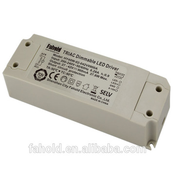 TUV 45W 1100mA 27-42V Triac Dimmable led driver