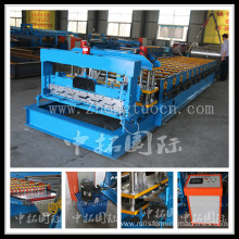 Arc Glazed Tile Roof Panel Forming Machine