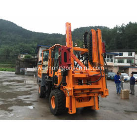 Diesel Engine Air-compressor Drilling Pile Driver