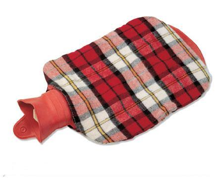 Plush Rubber Medical Hot Water Bag With Cover