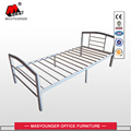 Worker Student Dormitory Steel Metal Frame single Beds