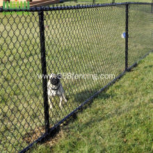 Used Mini Mesh Chain Link Fence Project
