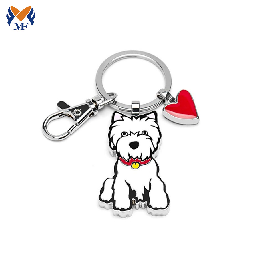 Keychain Dog Metal