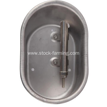 Pig drinking water bowl with drinking water nozzle