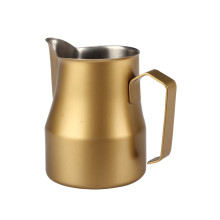 Color Coated Coffee Milk Frothing Jug