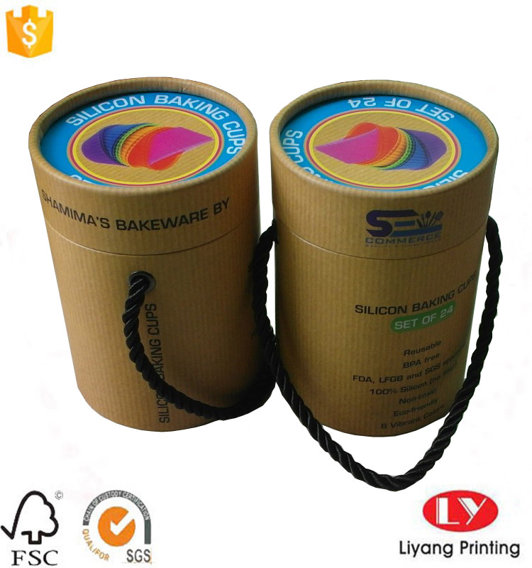 luxury paper tube box