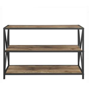 Reliable for Wooden Bookshelf Console Solid Wood Bookshelf with Metal Frame export to Spain Supplier