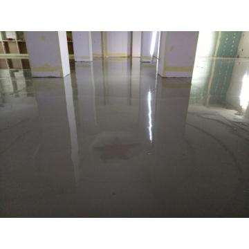 Indoor solvent-free epoxy self-leveling intermediate coating