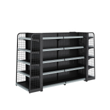 China for Hole Supermarket Shelf Supermarket Backnet And Backhole Display Rack export to Dominican Republic Wholesale