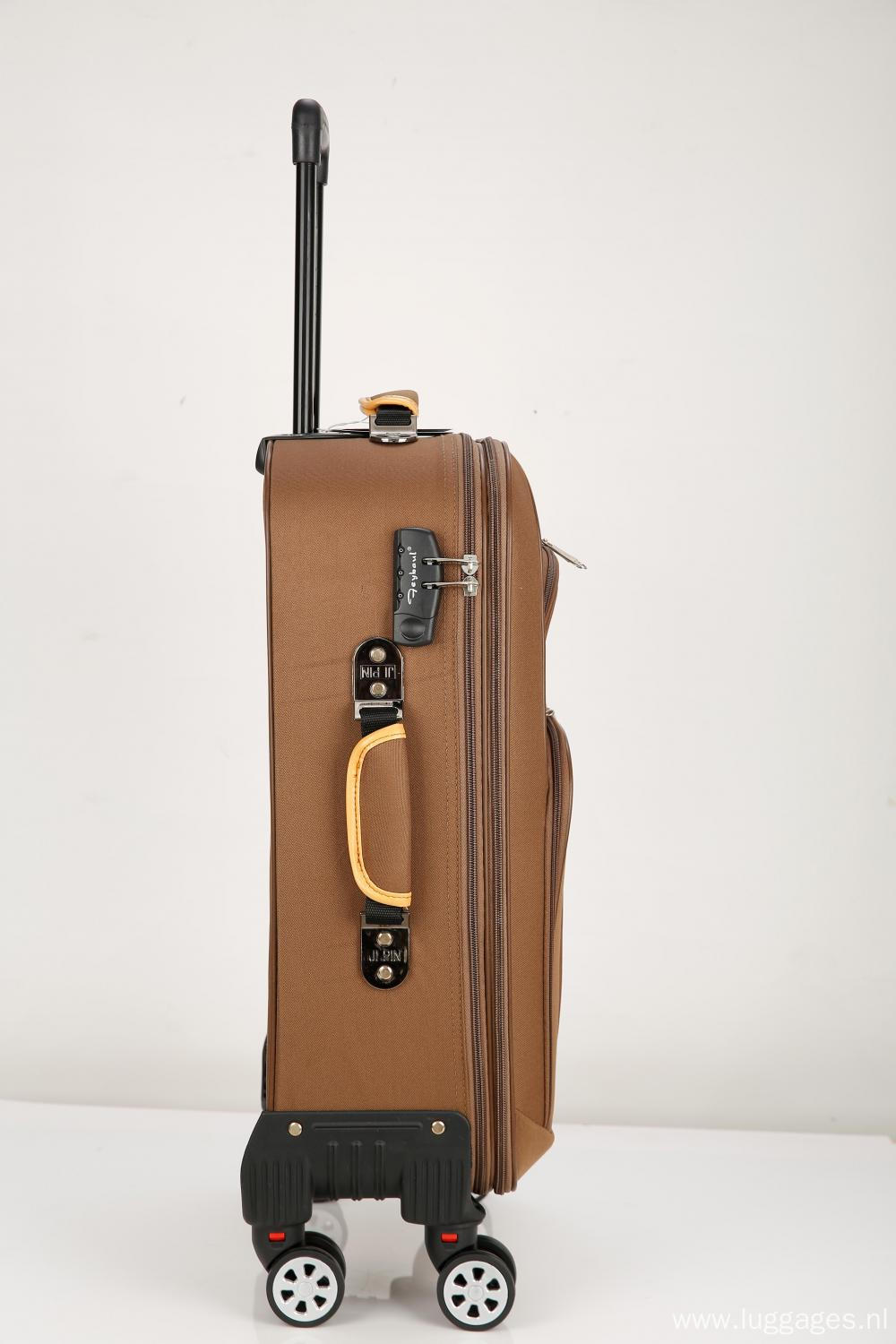 custom stylish EVA  trolley luggage