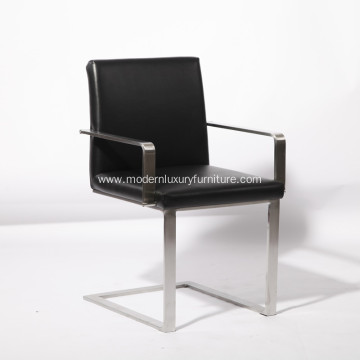 China Gold Supplier for for Polished Stainless Steel Dining Chair Nico Flat Steel Dining Chair supply to Netherlands Exporter