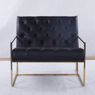 Modern thin frame lounge chair