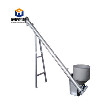 auger conveyor system cement screw conveyor