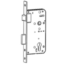 Good Quality for Storeroom Function Mortise Lock Immediate egress mortise lock export to Spain Wholesale